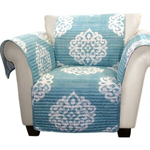 Stroudsburg Box Cushion Armchair Slipcover by Three Posts