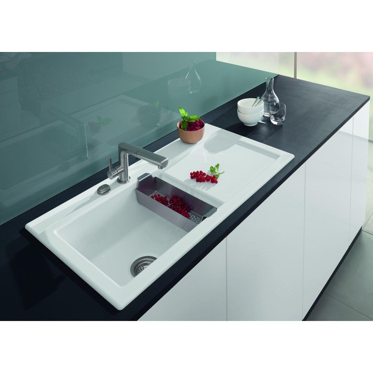 Villeroy & Boch Subway 100cm x 51cm Single Bowl Kitchen Sink ...