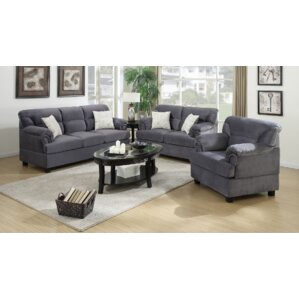 Attractive Penny 3 Piece Living Room Set