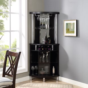 Black Wine Bars Bar Sets You Ll Love Wayfair
