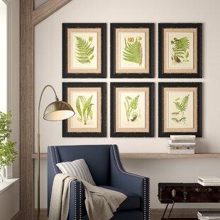 6 Piece Framed Art Wayfair