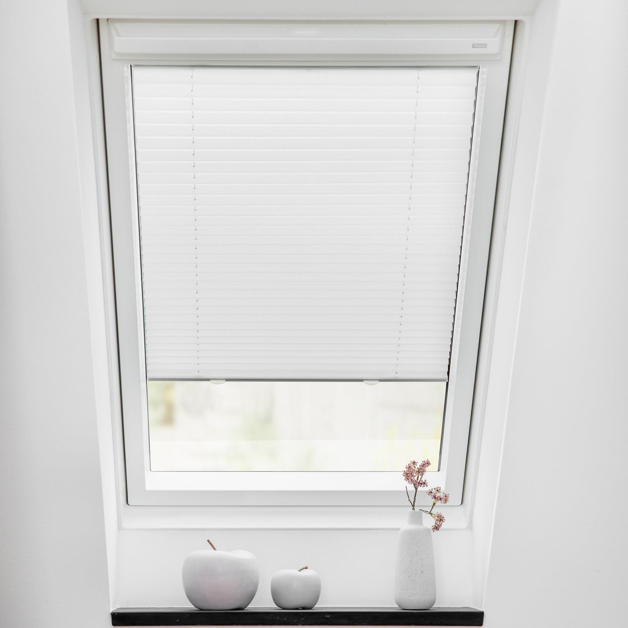 Clearambient Dachfenster Plissee Haftfix Bewertungen Wayfair De