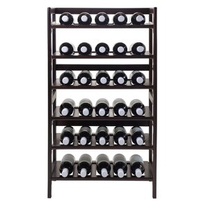 Silvi 30 Bottle Floor Wine Rack by Luxury Home