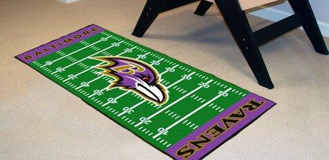 Fanmats Nfl Baltimore Ravens Football Field Runner Wayfair