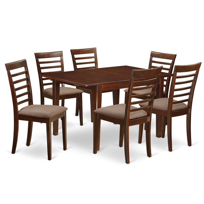 East West Milan 7 Piece Dining Set Reviews