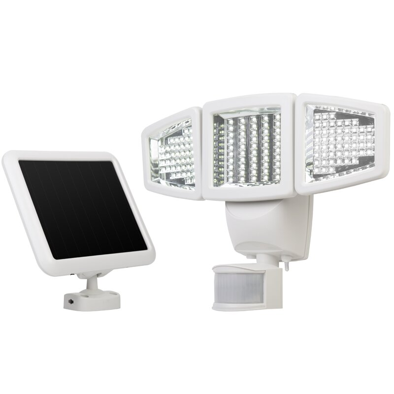 Solar Outdoor Security Flood Light With Motion Sensor