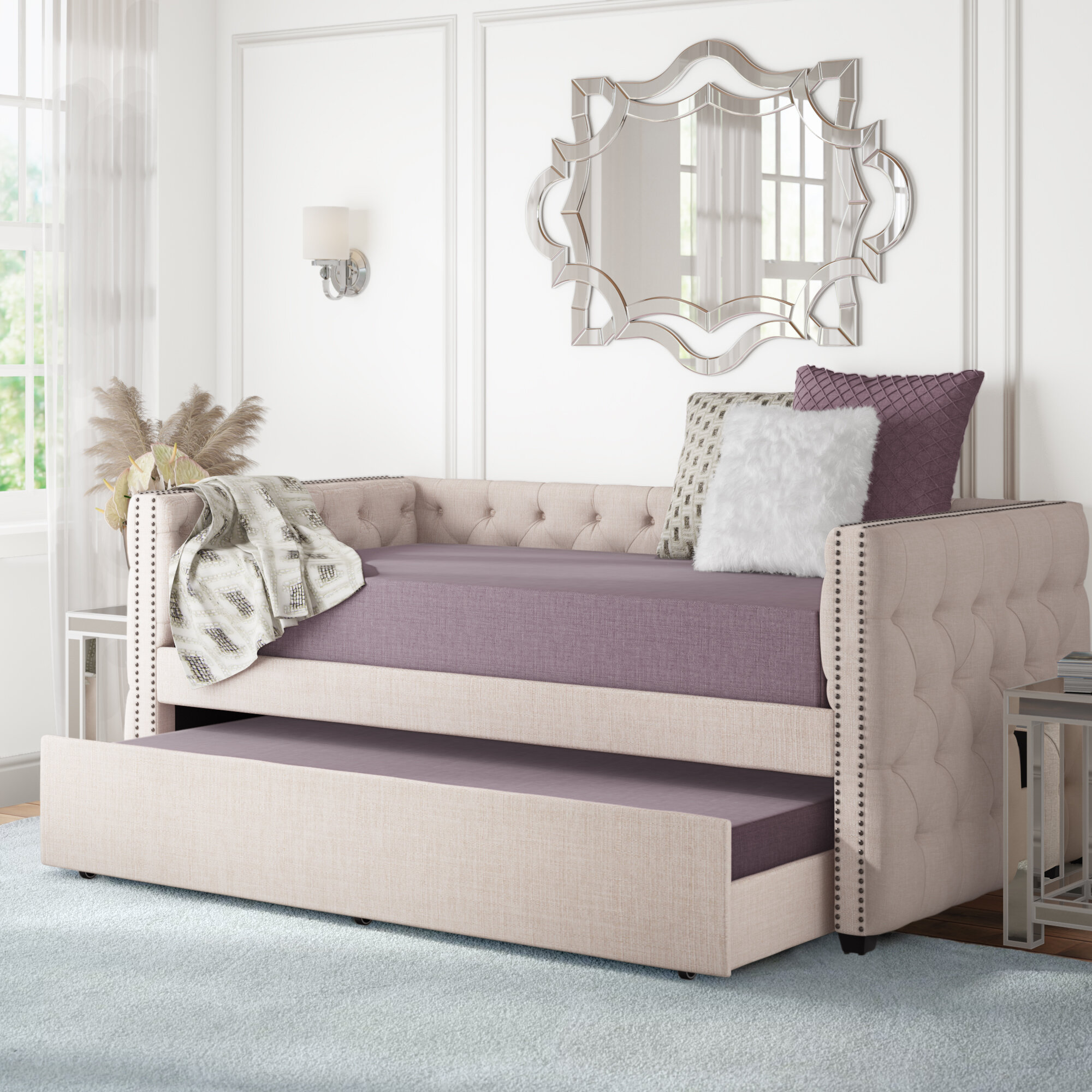 Day Bed.Ghislain Twin Daybed