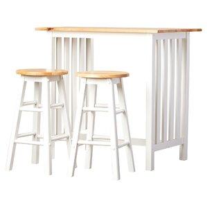 3 Piece Sasha Pub Table Set