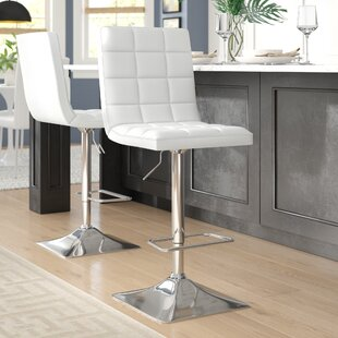 Martins Adjustable Height Swivel Bar Stool (Set of 2)