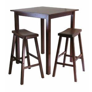 Parkland 3 Piece Pub Table Set by Luxury ..