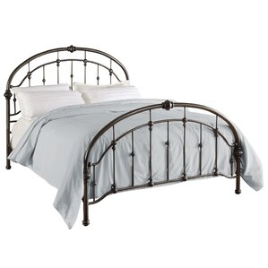 Homestead Queen Metal Bed by Alcott Hill