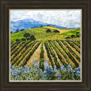 c38e05ad16f Elegant Vineyard Framed Painting Print