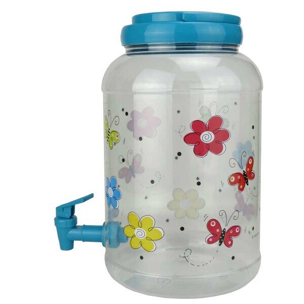American Maid Plastic Sun Tea 159 Oz Beverage Dispenser