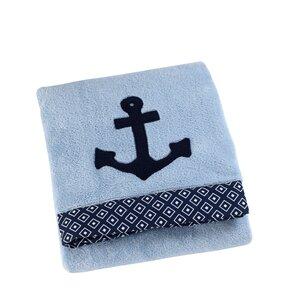 Anchor Applique Baby Blanket
