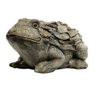 Lefkowitz Frog Stone Garden Statue