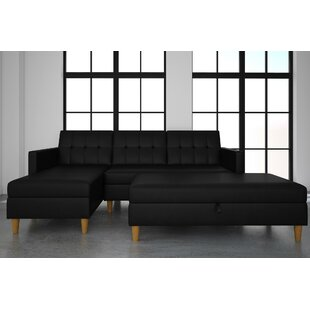 Chaise Sofa Leather Sectional Sofas Youu0027ll Love | Wayfair
