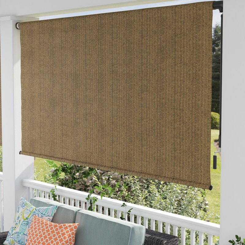 Coolaroo Outdoor Roller Shade Amp Reviews Wayfair