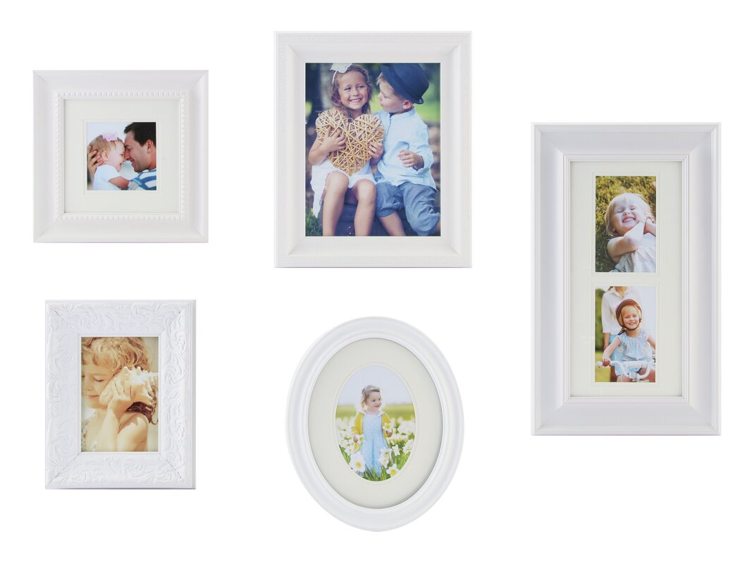 White Gallery Wall Frame Sets You\'ll Love | Wayfair
