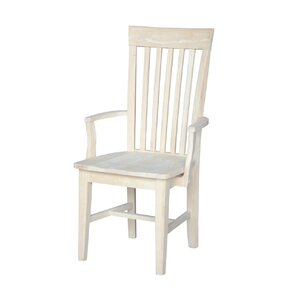 Sevilla Solid Wood Dining Chair by Loon Peak