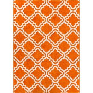 StarBright Orange Area Rug by Latitude Vive