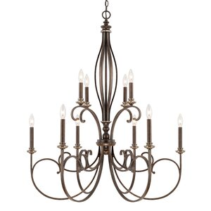 Banfield 10-Light Candle-Style Chandelier