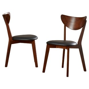 ingenious idea mid century side chair. Septimus Side Chair  Set of 2 Modern Wood Dining Chairs AllModern
