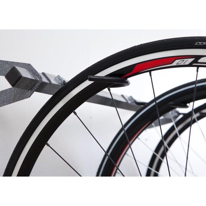 6 Bike Storage Wall Mounted Bike Rack  sc 1 st  Joss u0026 Main & 6 Bike Storage Wall Mounted Bike Rack u0026 Reviews | Joss u0026 Main