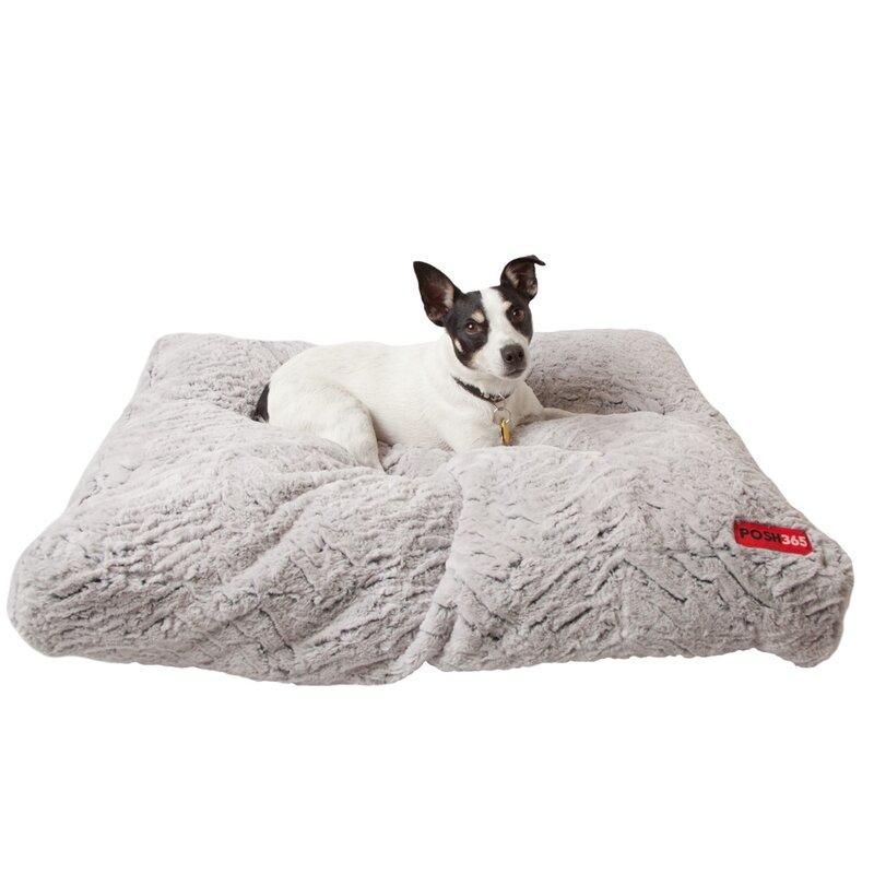 Luxury Faux Fur Cushion Dog Bed Amp Reviews Allmodern