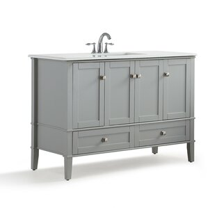 White Bathroom Sink Cabinets shop 9,928 bathroom vanities | wayfair