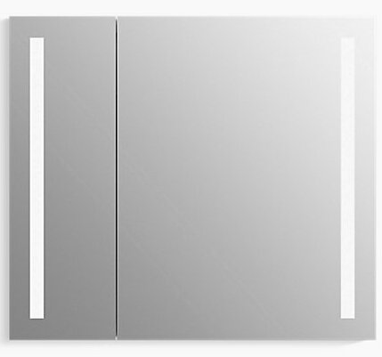 Verdera Lighted Medicine Cabinet 34 Quot X 30 Quot With Lighting