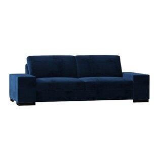 Modern & Contemporary Cobalt Blue Sofa | AllModern