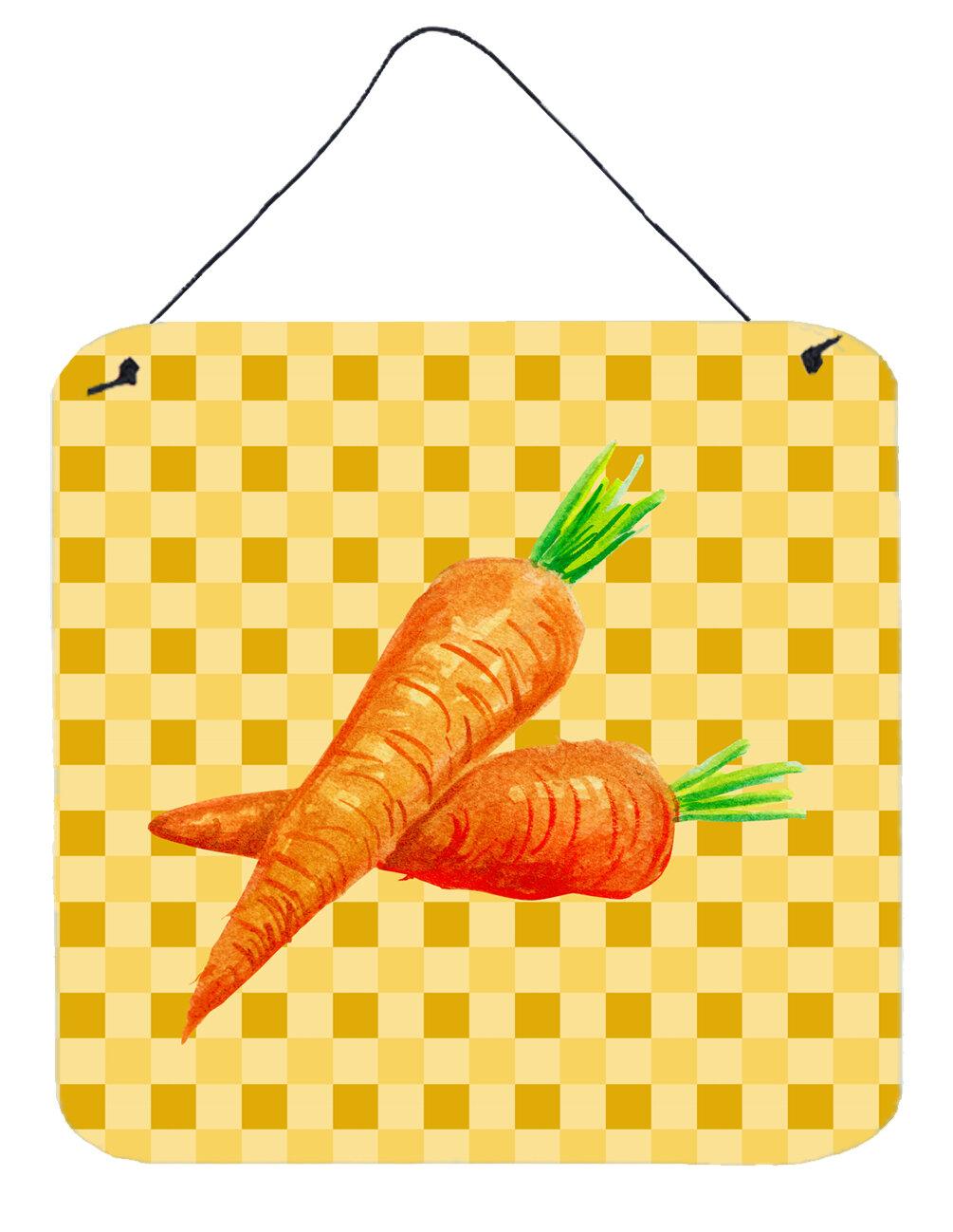East Urban Home Carrots on Basketweave Wall Décor | Wayfair