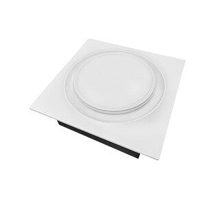 Ventilateur De Salle De Bain 50 80 110 Cfm à Faible Puissance Avec Lumière  Del Aero