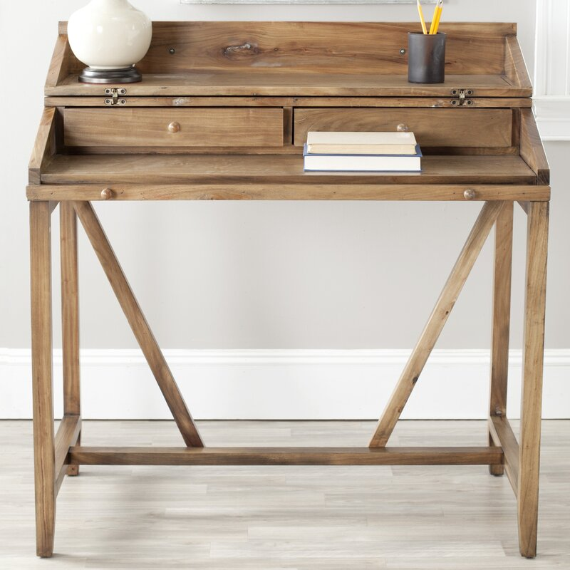 birch lane™ somerton hinged hideaway desk  reviews  wayfair