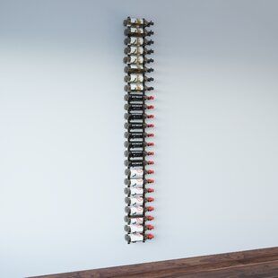 Wall Series 48 Bottle Wall Mounted Wine Bottle Rack