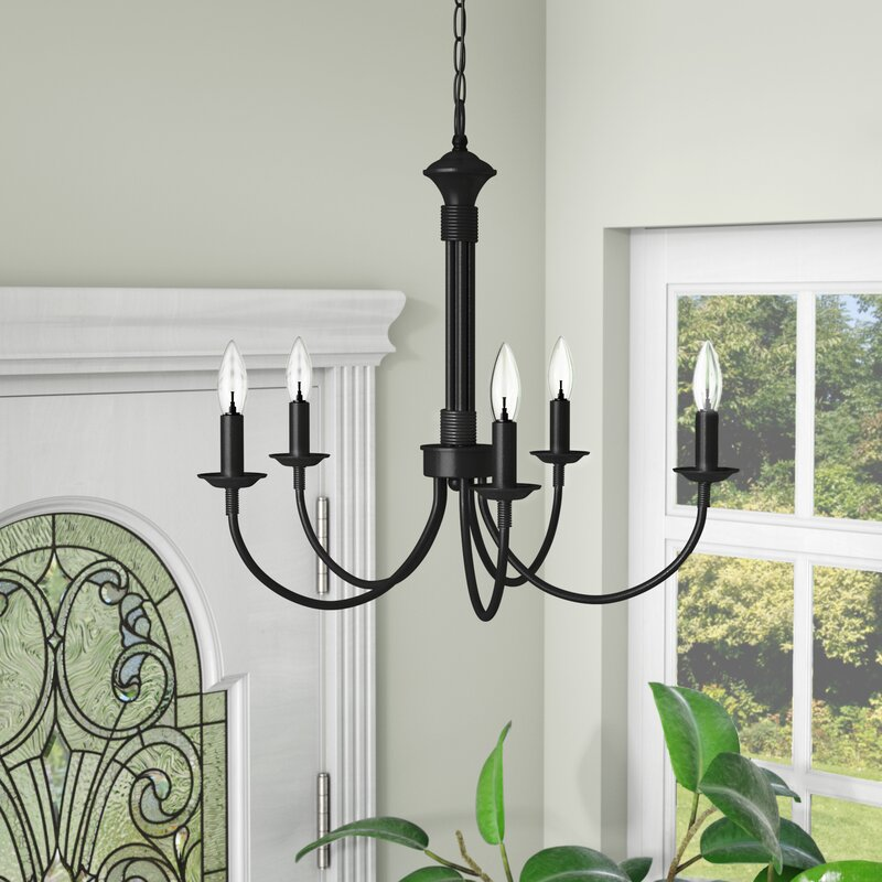 Wayfair Dining Room Lighting: Laurel Foundry Modern Farmhouse Shaylee 5-Light Candle