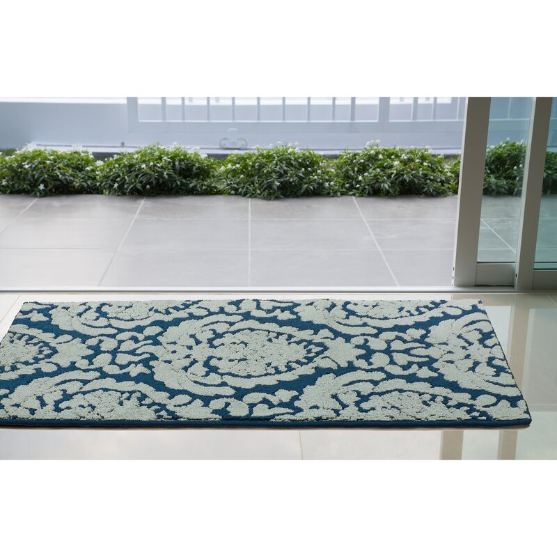 Arend Blue White Area Rug