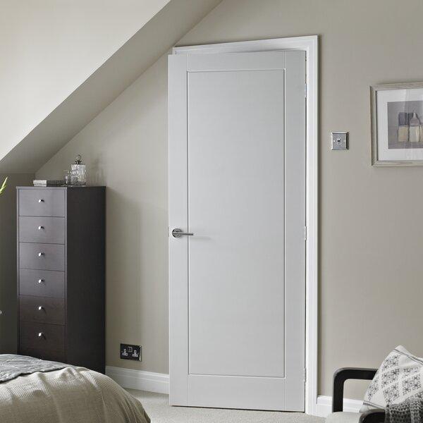 & Premdor Solid Wood Moulded Slab Fire Door | Wayfair.co.uk