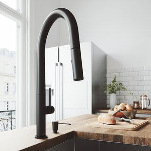 kitchen water faucet tall kitchen greenwich pull down single handle kitchen faucet drinking water wayfair