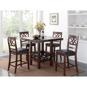 Ketcham 5 Piece Dining Set by Red Barrel Studio