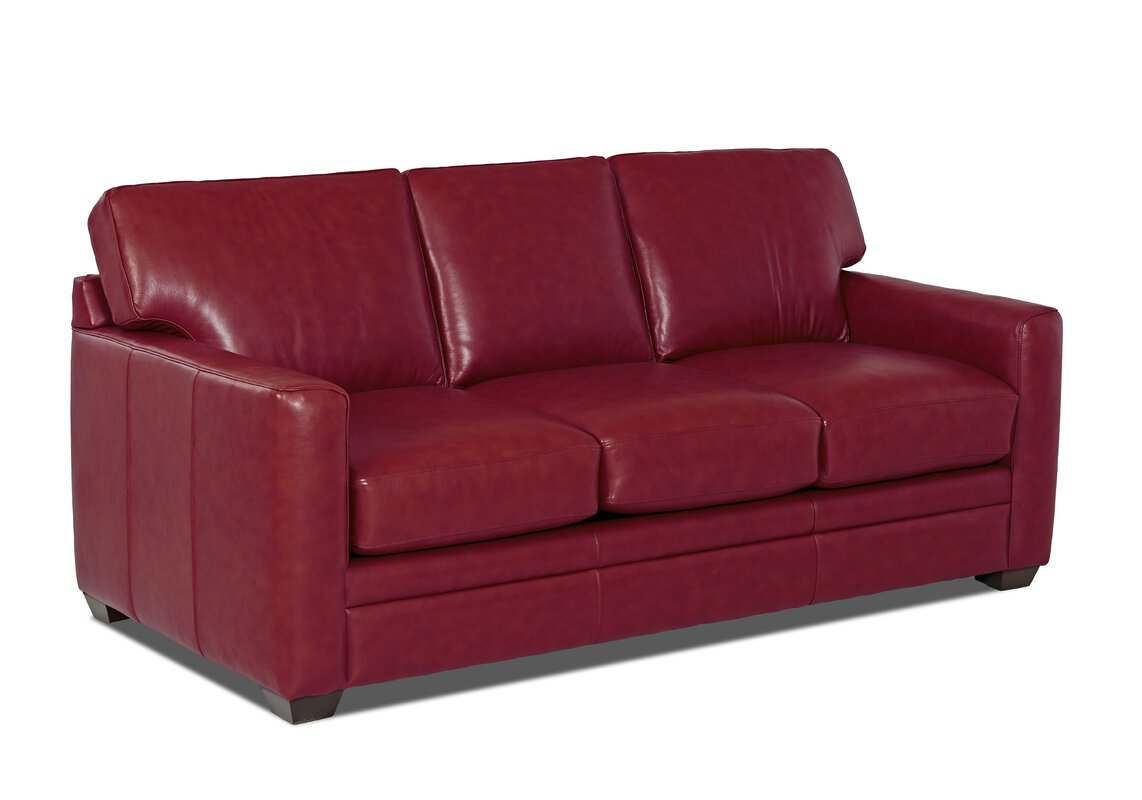 Carleton Leather Sofa
