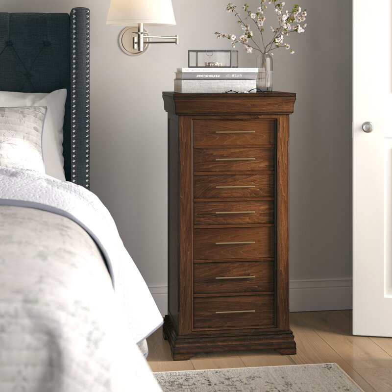 Birch Lane™ Heritage Galiena Free Standing Wood Jewelry Armoire With Mirror  U0026 Reviews | Birch Lane