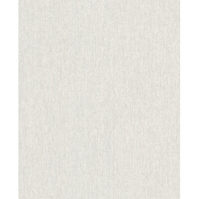 Wrought Studio Ericson 33' x 20 Solid Calico Wallpaper Color: Stone