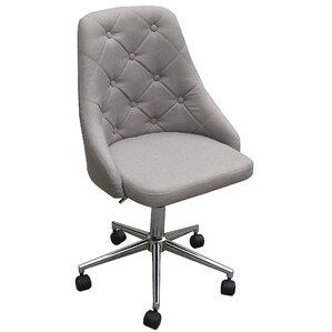 brown distressed office chair | wayfair