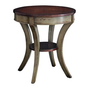 Ouellette Wooden End Table by August Grove