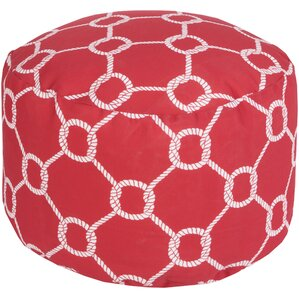 Colleton Rope Trellis Pouf by Breakwater Bay