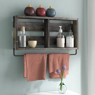 Natashia Barnwood Plank Wall Shelf
