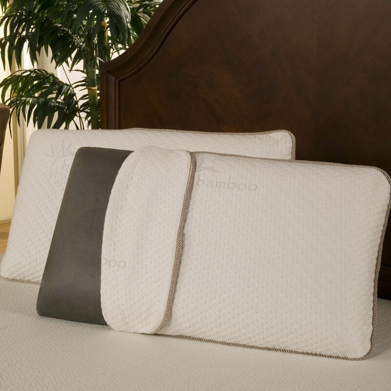 Bamboo Traditions Pillow Reviews : BlissfulNights Rayon from Bamboo Charcoal Memory Foam Pillow & Reviews Wayfair.ca