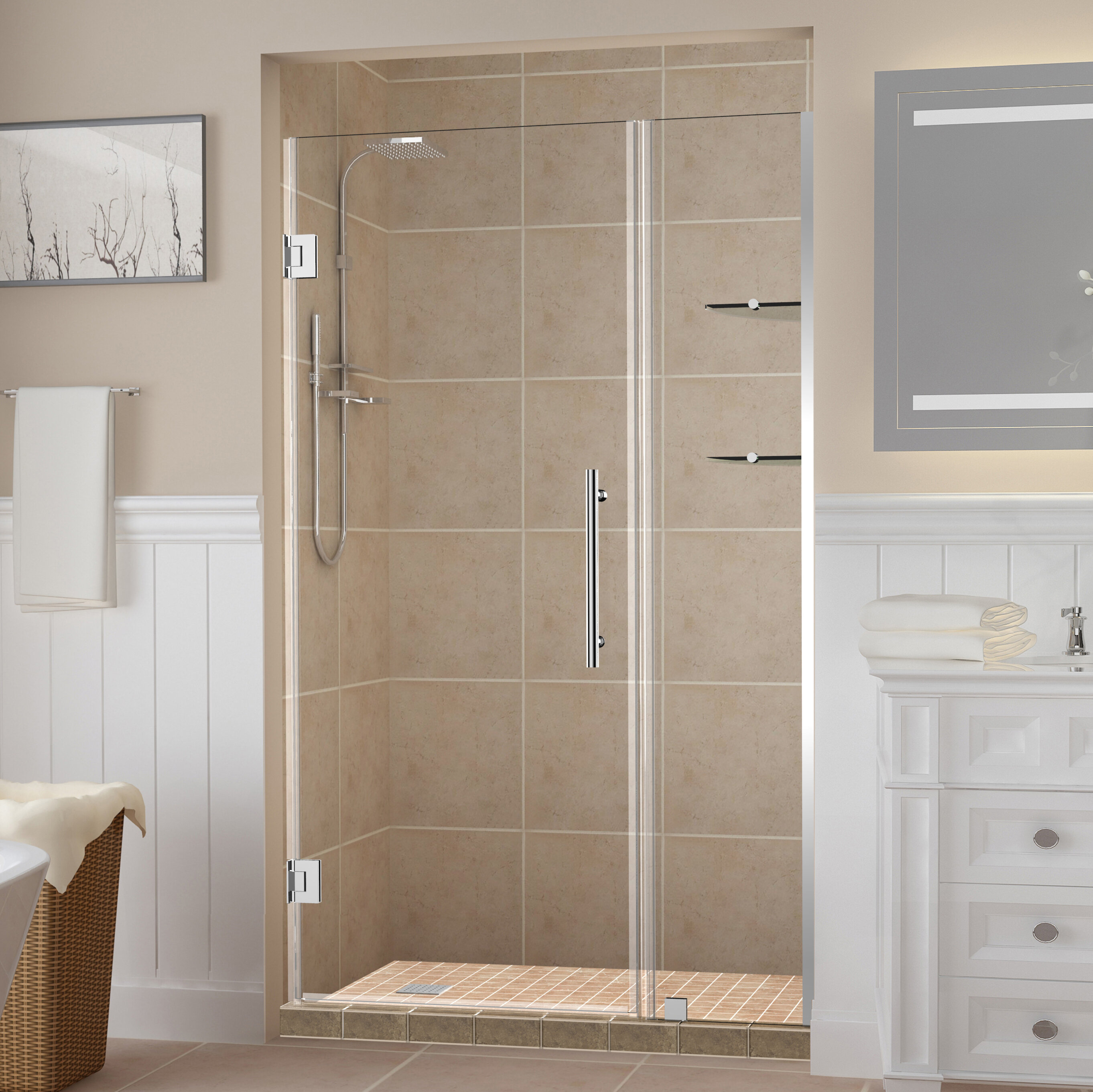 Belmore Gs 60 X 72 Hinged Frameless Shower Door