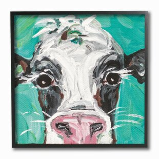 Canvas Cow Wall Art You Ll Love Wayfair